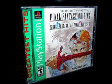 Final Fantasy ORIGINS   (PLAYSTATION 2 PS1 / PS2)  FF + FF II   ***NEW SEALED***