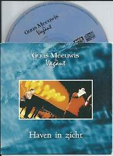 GUUS MEEUWIS & VAGANT - Haven in zicht CD SINGLE 2TR CARDSLEEVE 2001 HOLLAND