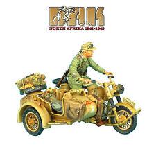 DAK017 DAK German R75 Motorcycle Combo - 15th Pz. Div. Recon HQ by First Legion