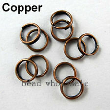 200-450 Pcs Metal Split Double Rings 4/5/6/8/10/12mm Jewelry Making DIY