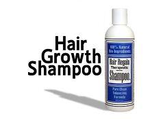 HAIR REGAIN growth Shampoo grow widows peak dht loss root booster baldness cure