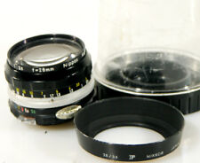 NIKON 28MM F3.5 N-AI LENS WITH HOOD AND BUBBLE