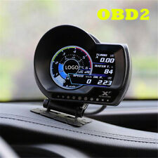 Multifunction Digital OBD2 Boost Gauge/Multi-Gauge/Shift Indicator Speed Alarm