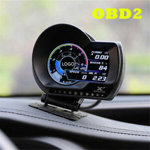 Multifunction Digital OBD2 Boost Gauge/Multi-Gauge/Shift Indicator Speed Alarm