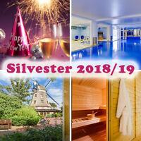 6 Tage SILVESTER Urlaub Ferien Hotel Lewitz Mühle Schwerin Halbpension Party