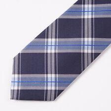 New Finamore Napoli Purple Silk Tie