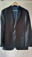 "MENS NAVY JACKET WOOL MIX SIZE M CHEST 42""  MARKS AND SPENCER"