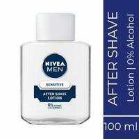 Nivea Men Sensitive After Shave Lotion - 100 ml, - Free Shipping