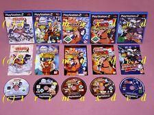 5x Naruto _ NARUTO Ultimate Ninja 1 & 2 & 3 &  Shippuden Ultimate Ninja 4 & 5