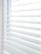 50mm Slats Made To Measure Child Safe Faux Wood Blind Faux Wood Venetian