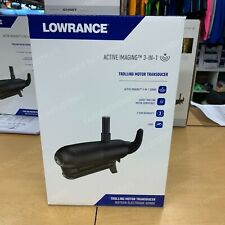 LOWRANCE GHOST ACTIVE IMAGING PLASTIC TROLLING MOTOR MOUNT 3 IN 1 TRANSDUCER