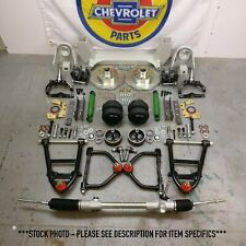 "55-59 Chevy Truck Mustang II IFS AirBag 2"" Drop 6x5.5 Manual LHD Rack Basic Kit"