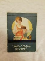 Vintage Book - Better Baking Recipes From Snow King Baking Powder Co.