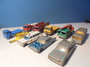 MATCHBOX LESNEY LOT, Trucks/cars , c1960`s,