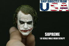 SUPREME 1/6 Custom Joker Head Sculpt 3.0 For Hot Toys DX11 DX01 U.S.A. SELLER