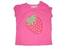 Impidimpi tolles T-Shirt Gr. 62 / 68 rosa mit Erdbeer Applikation !!