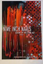 Nine Inch Nails Concert Poster QOTSA 2005 Oakland