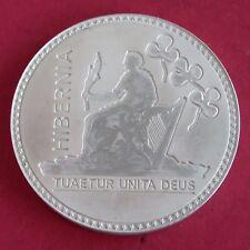 IRELAND 1887 QUEEN VICTORIA SILVER PROOF PATTERN CROWN