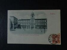 CARTOLINA PADOVA TORRE OROLOGIO PALAZZO CAPITANO VIAGGIATA 1899 SUBALPINA AAA