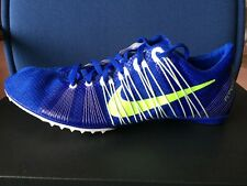 Nike Zoom Victory 2 Track Spikes Men's Sz 15 Blue Green Cleat Flywire 555365-431