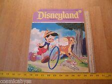 Disneyland Magazine 1972 Snow White and the Seven Dwarfs Bambi cvr #58 Pinocchio