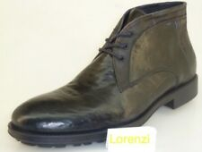 Lorenzi Shoes Mens Made in Italy Leather Handmade Shoes Lace Up Boots EUR 44/45