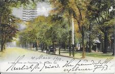View on Peachtree Street Atlanta GA nice postcard postally used in 1910