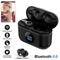 Bluetooth 5.0 Earbuds Headphone TWS Wireless Headset Noise Cancellation Earphone