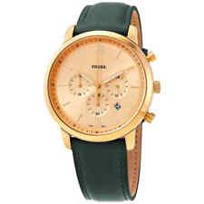 Fossil Neutra Chronograph Quartz Gold Dial 44 mm Watch FS5580