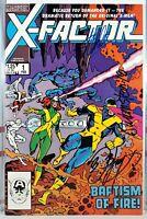 🔥 SIGNED! X-FACTOR #1 STAN LEE Bob Layton JOE RUBINSTEIN marvel UNCANNY X-MEN