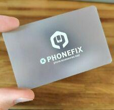 Plastic Spudger Thin Credit Card Opening Repair Tool for iPhone iPad Screen Lift