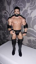 Wwe Wwf Lucha Libre Figura De Acción Mattel 2012 Usado Raro Tna Wcw Wwf Raw