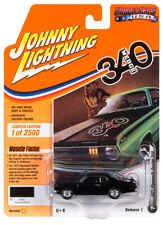 Johnny Lightning Jlmc022 Muscle Car Ver B 1971 Plymouth Duster 340 Black