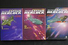 JAPAN Leiji Matsumoto manga: Space Pirate Captain Harlock (Akita Bunko) Complete