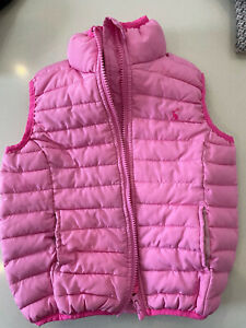 Joules Girls Gilet Aged 3 Years Pink