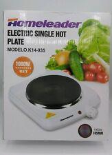 HomeLeader 1000W Electric Single Hot Plate Model O.K14-035