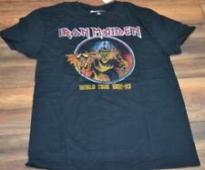 Iron Maiden World Tour 1982-83 Graphic Tee Officially Licensed Replica T-Shirt