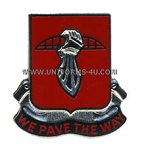 ARMY 17TH ENGINEER BATTALION UNIT CREST