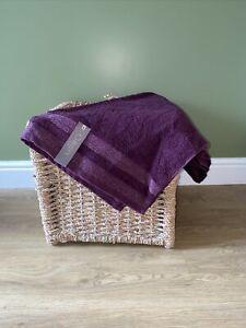 Christy Shimmer Berry Bath Towel