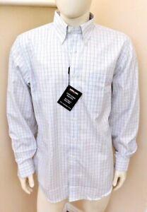 Kirkland Signature mens Button Down100% cotton non iron Dress Shirt 2 size BNWT