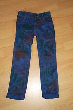 CATIMINI : pantalon imprimé bleu indigo - Taille 4 ans