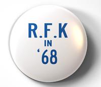 Robert F. Kennedy RFK 68 Campaign - pin pinback button - FREE Shipping