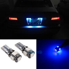 2Pcs LED License Plate Bulb Blue Light For BMW M6/E63/645i/650i 6 / 7 Series