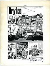 Dry Ice - Comix - 1st printing - Signed - High grade - Scarce!