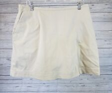 Nike Golf Dri-Fit Skirt Skort Sz 14 Tan