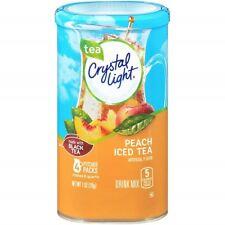 Crystal Light Peach Iced Tea Drink Mix Pitcher Packs