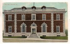 Post Office, Meadville PA Crawford County 1911 Postcard 092317