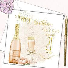 Personalised Birthday Card Daughter Mother Sister Friend 18th 21st 40th 50th