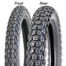 New IRC GP-1 Dual Sport Tire Set Front Rear Tires + Tubes 2.75 x 21 & 3.50 x 18
