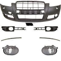 Set Stoßstange vorne inkl. Zubehör+Nebel für Audi A6 4F C6 Bj. 04-08 für SRA